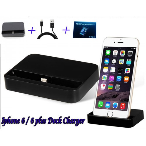 on sale 37b1c 7156f 2 in 1 Data Sync Docking Station for iPhone 6 and 6 Plus -  AM-Iphone6-Iphone6plus-Dock-B (EW product #331200)